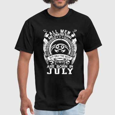 Born in July Shirt - Men's T-Shirt