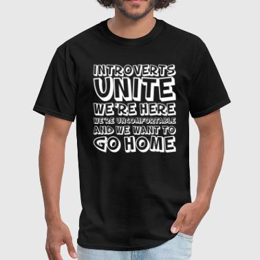 Flippant INTROVERT UNITE - Men's T-Shirt