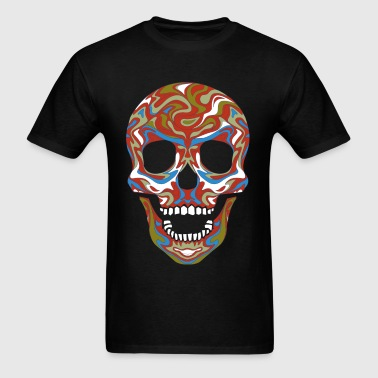 color skull - Men's T-Shirt