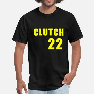 Clutch 22 Yellow Text - Men's T-Shirt