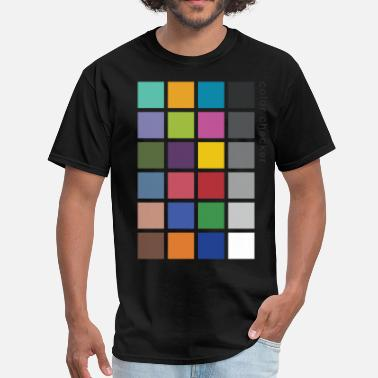 Chart Photographer's Color Checker tee - Men's T-Shirt