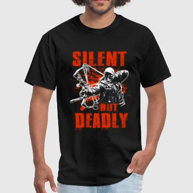 Bowhunting - Silent But Deadly - Men's T-Shirt