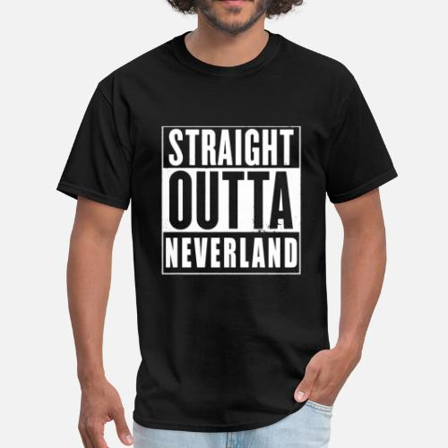 Peter Pan Straight Outta Neverland T Shirt