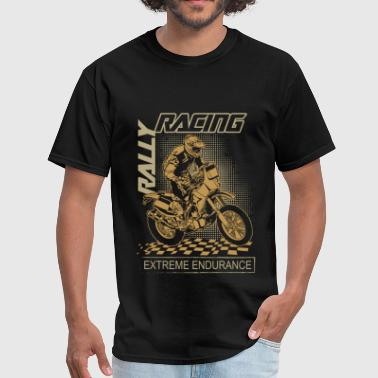 Rally Motocross Racing - Men's T-Shirt