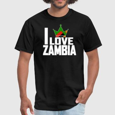 I LOVE ZAMBIA - Men's T-Shirt