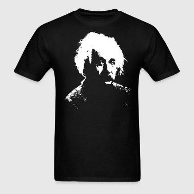 Einstein White - Men's T-Shirt