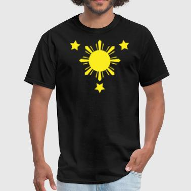 Stars 3 Stars and a Sun - Men's T-Shirt