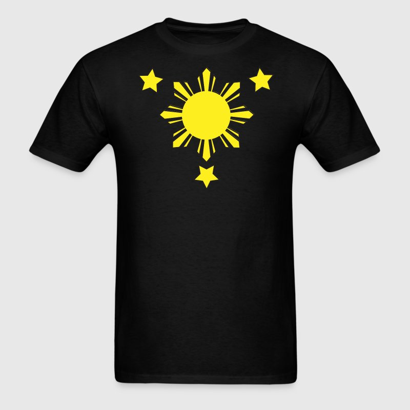 3 Stars and a Sun - Men's T-Shirt