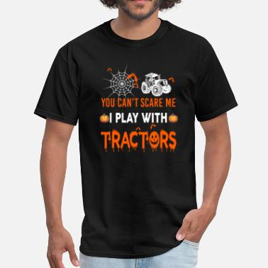 I Love Tractors Tractor I Play With Tractors - Men's T-Shirt