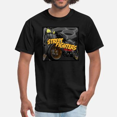 Streetfight Streetfighter Motorcycle T-Shirt - Men's T-Shirt