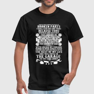 Graphic Mechanic Mechanic Garage Shirt - Men's T-Shirt