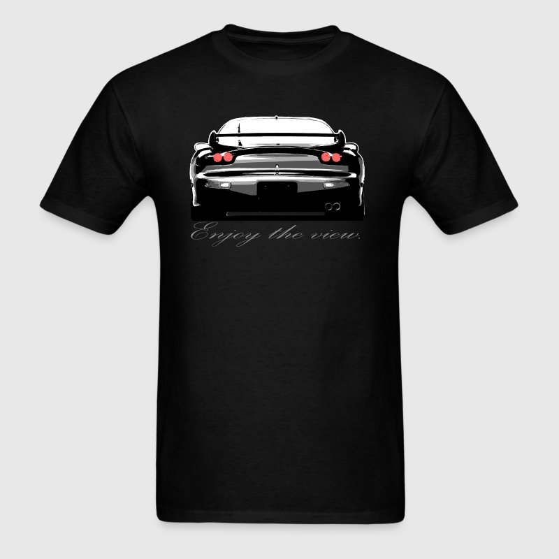 RX7 Enjoy the view. - Men's T-Shirt