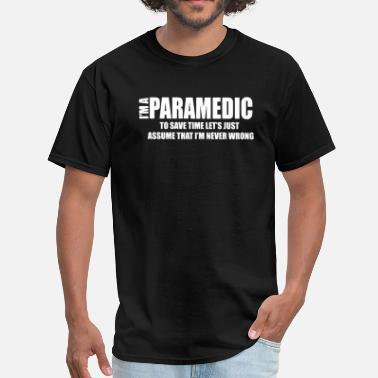 I Am Paramedic I AM I Paramedic - Men's T-Shirt