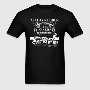 Muscle Car Racing Prayer - Men's T-Shirt