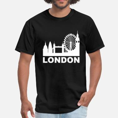 Gherkins London Skyline - Men's T-Shirt