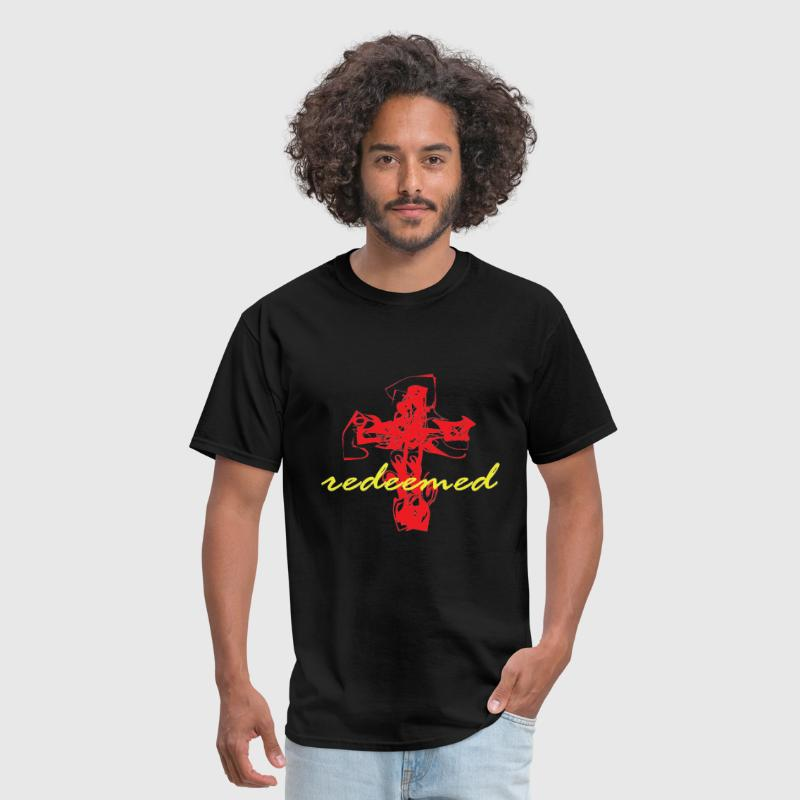 Redeemed - Red/Yellow - Men's T-Shirt