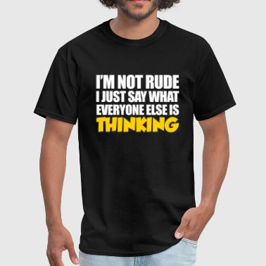 Rude - Men's T-Shirt