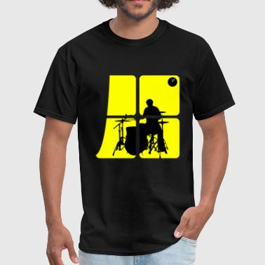 Drum Night Night Drummer - Men's T-Shirt