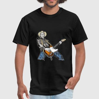 Country Rock Guitarist - Men's T-Shirt
