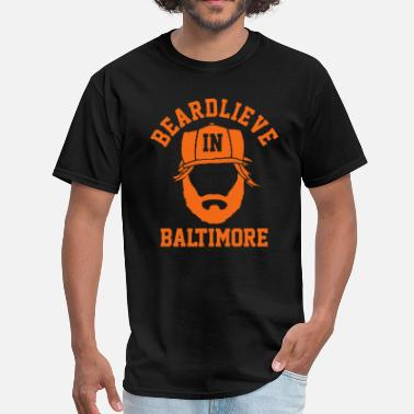 Oriole Beardlieve in Baltimore - Men's T-Shirt