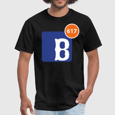 617 Notification - Men's T-Shirt
