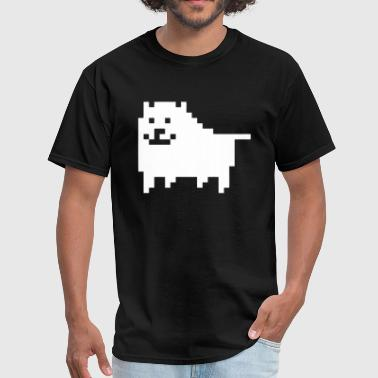 Pixelated Dogs Pixel Dog - Men's T-Shirt