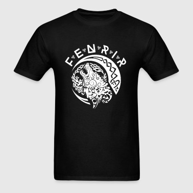 Fenriswolf Fenrir White - Men's T-Shirt