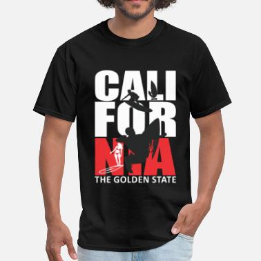 California Surf California Surfing The Golden State - Men's T-Shirt