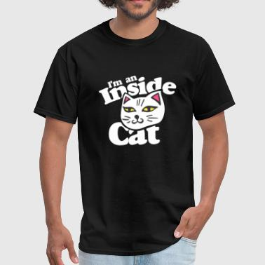 Logo Cat I M An Inside Cat - Men's T-Shirt