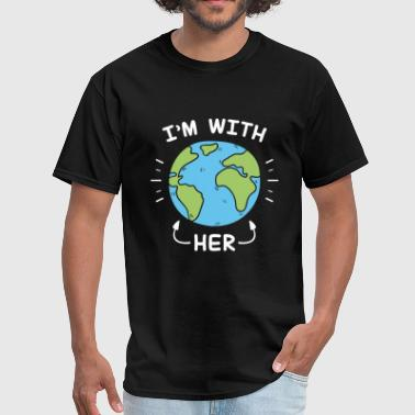 Earth Day 2017 I'm With Her - Men's T-Shirt