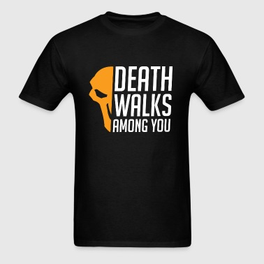 Overwatch Death Walks Among You Reaper T-Shirt - Men's T-Shirt