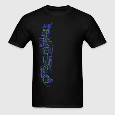 Techno Circuits - Men's T-Shirt