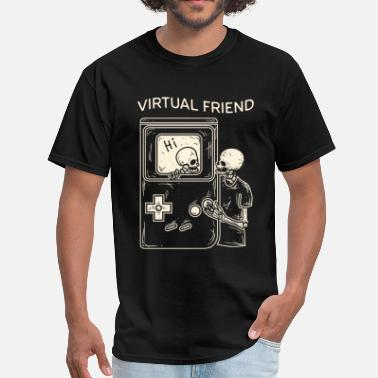 Virtualization VIRTUAL FRIEND - Men's T-Shirt
