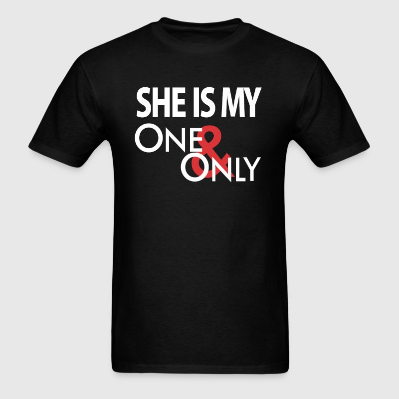 She's My One Only - Men's T-Shirt