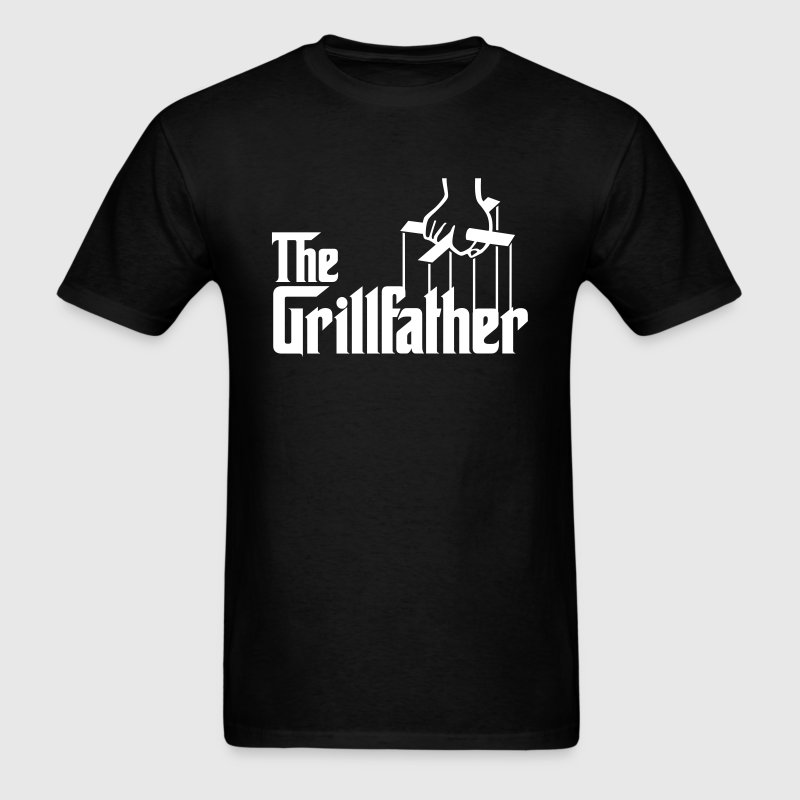 The Grillfather - Men's T-Shirt