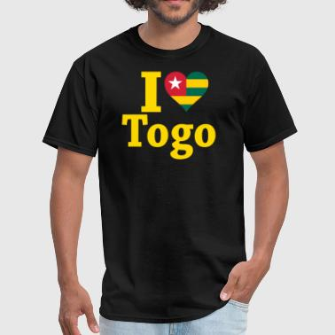 I Love Togo Flag - Men's T-Shirt