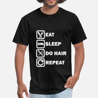 Hairdresser Christmas Hairdresser - Daily routine simple for hair styli - Men's T-Shirt