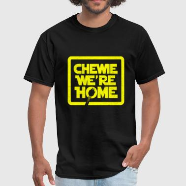 chewie,we're home-vintage - Men's T-Shirt