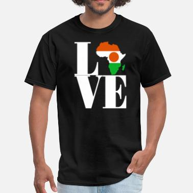 Niger Flag NIGER - Men's T-Shirt