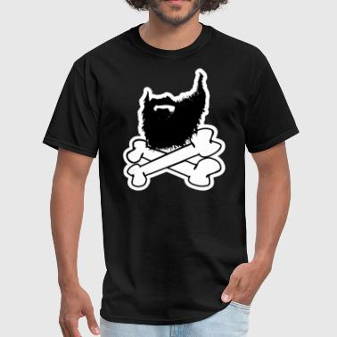 Beard And Crossbones Beard and crossbones - Men's T-Shirt