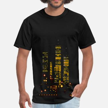 Freedom Tower Towers - Men's T-Shirt