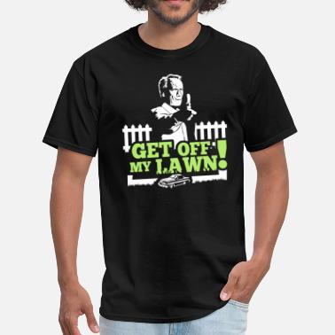 Get Off My Dick Get off my lawn!! V2 - Men's T-Shirt