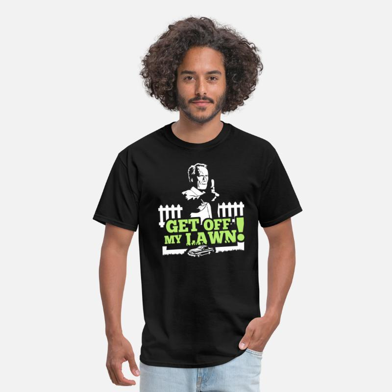 Clint T-Shirts - Get off my lawn!! V2 - Men's T-Shirt black