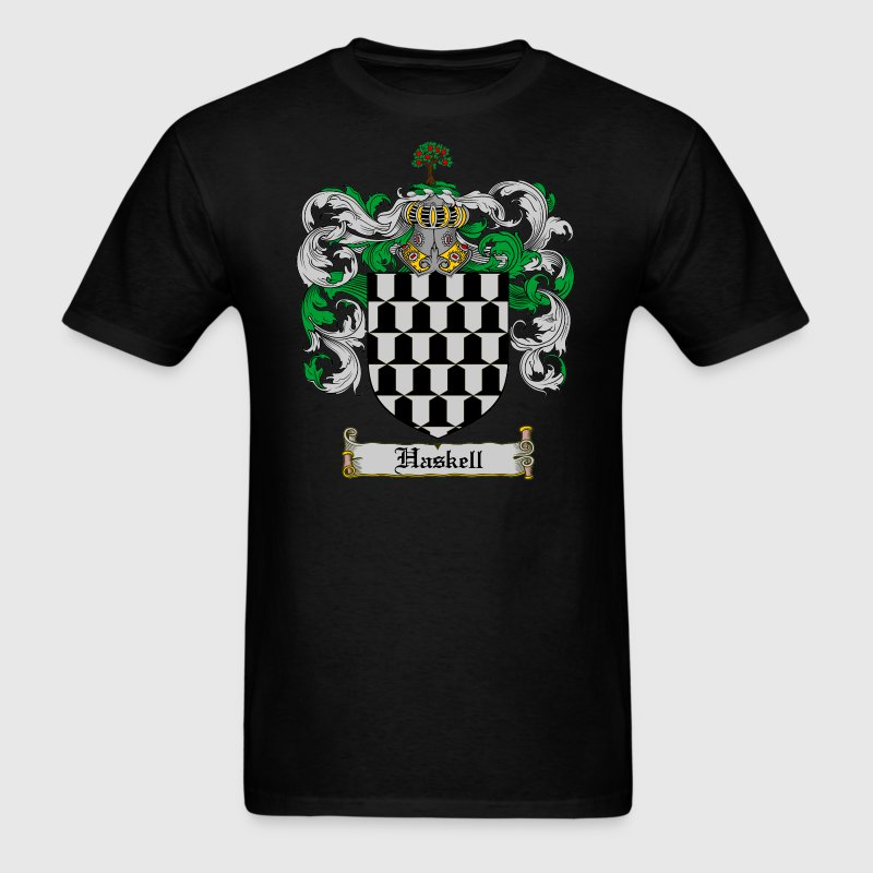 Haskell Coat of Arms / Haskell Family Crest T-shir - Men's T-Shirt