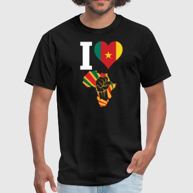 Cameroon Black Power - Men's T-Shirt