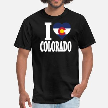 Womens Colorado I LOVE COLORADO - Men's T-Shirt