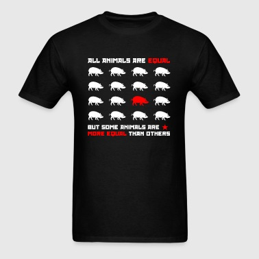 All animals are equal 2 (dark) - Men's T-Shirt