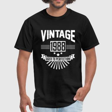 VINTAGE 1988 - Aged To Perfection - Men's T-Shirt