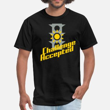 Accepted Challenge Accepted - Men's T-Shirt