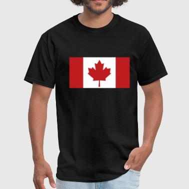 American And Canada Flag Flag - Canada - Men's T-Shirt